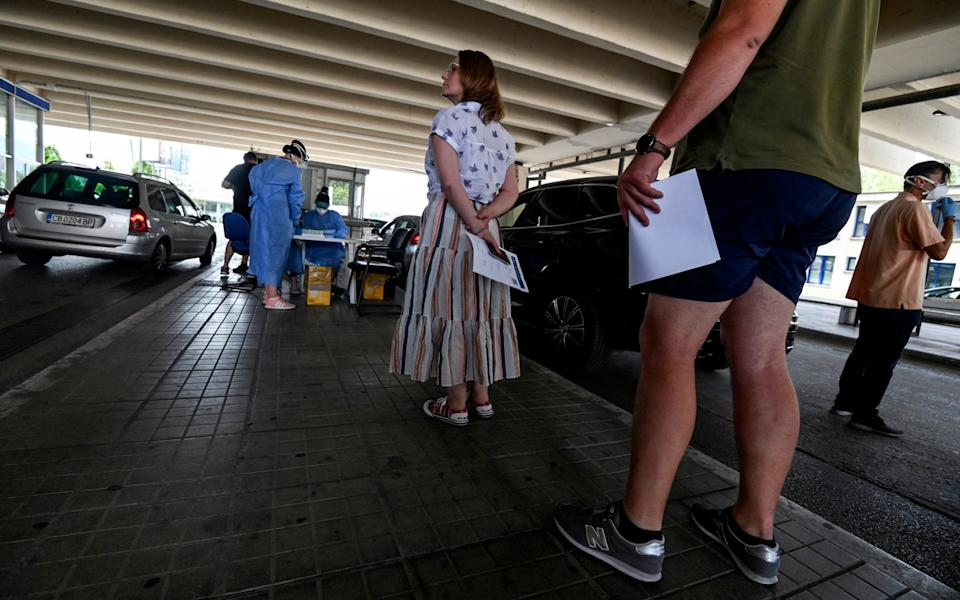 More from Greece: Dozens of vehicles of Serb holidaymakers who were trapped at the Greek border overnight have been allowed to cross into Greece after a ban on the entry of people from Serbia came into effect due to a coronavirus flare-up