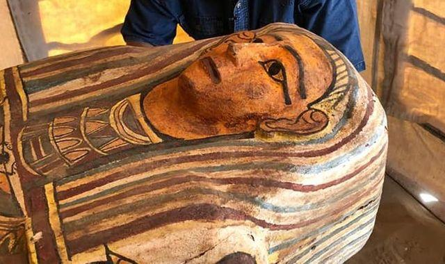 Egypt: 27 ancient coffins unearthed inside well at Saqqara