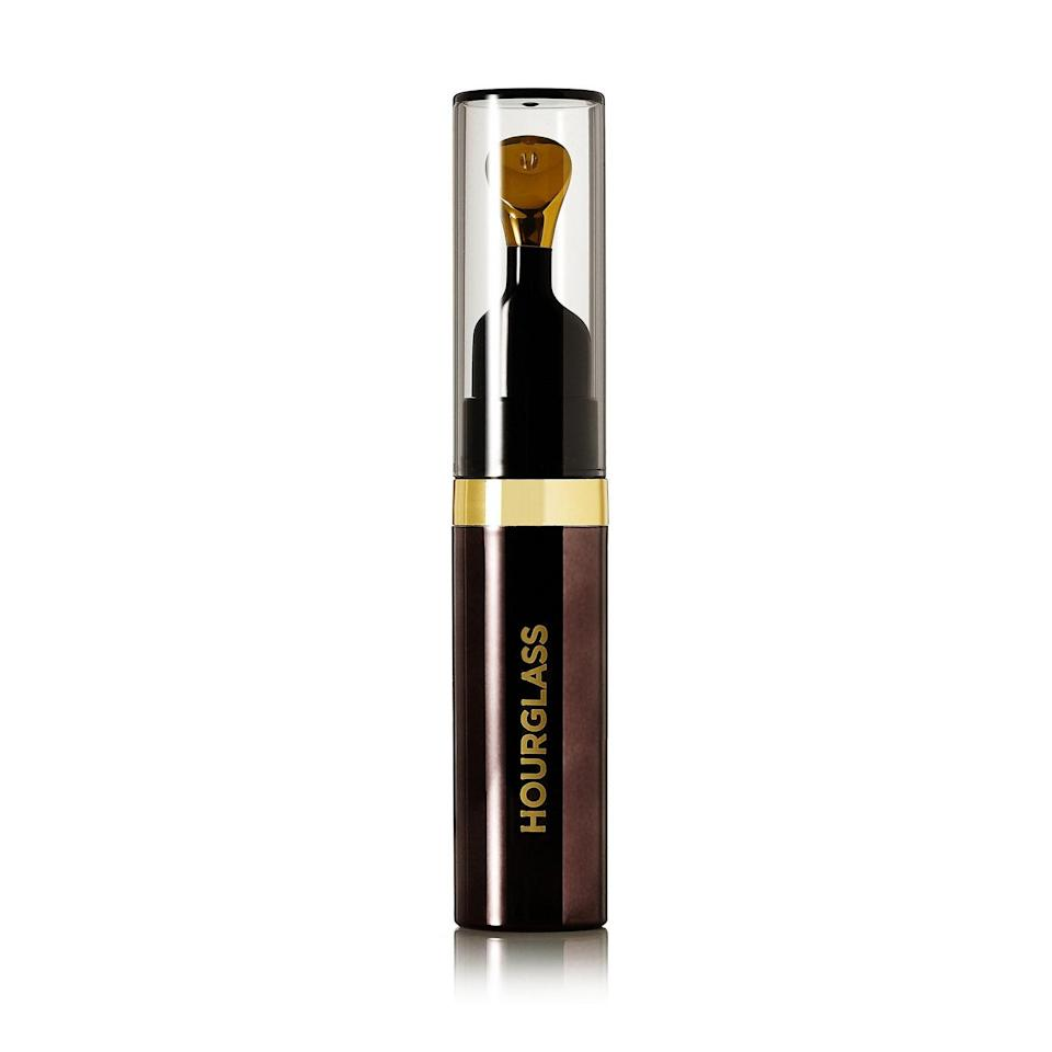 "<p>It's indulgent — and pricey — but the Hourglass No. 28 Lip Treatment Oil is loaded with vitamins A, B5, C and E, as well as lipid-rich rose hip, olive, green tea oils. All leave even the craggiest mouths smooth and supple. The 24-karat-gold-plated applicator tip may sound gimmicky, but it transforms the simple experience of putting on lip oil into a luxury spa treatment. </p> <p><strong>$44 (</strong><a href=""https://shop-links.co/1631844419835604250"" rel=""nofollow noopener"" target=""_blank"" data-ylk=""slk:Shop Now"" class=""link rapid-noclick-resp""><strong>Shop Now</strong></a><strong>)</strong></p>"