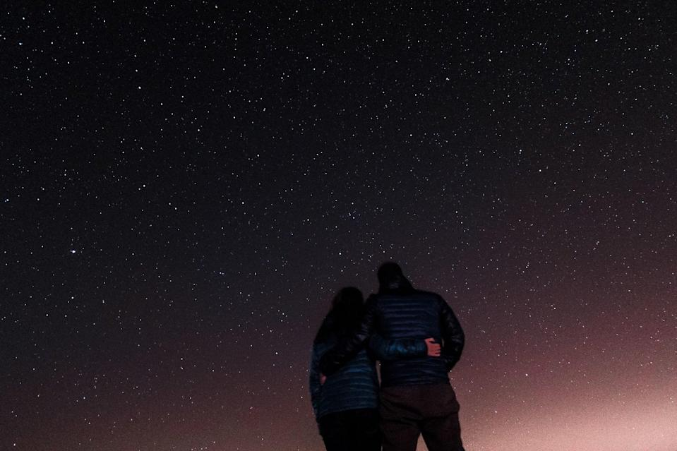 <p>Stargazing is one of the most romantic experiences you can share with a partner. Spend the night soaking in the beauty of the stars, searching the sky for constellations, and maybe even wishing on a shooting star or two. This one is truly a date night taken straight from a movie or romance novel!</p>
