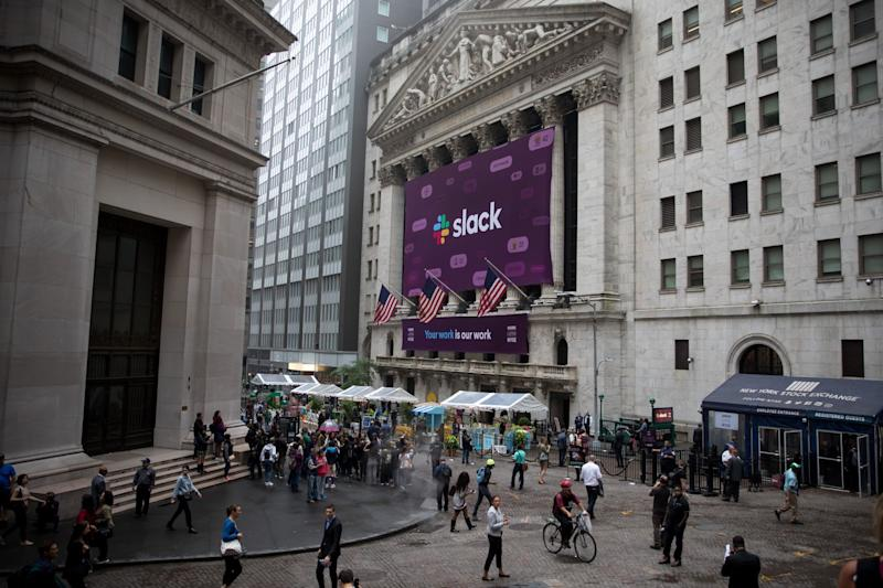 SEC probes NYSE listings of companies including Slack