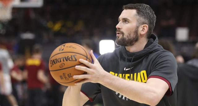 With LeBron gone, the Kevin Love era begins in Cleveland. (AP)