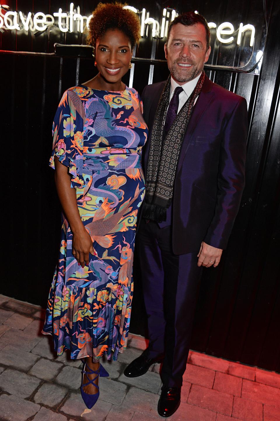 Troy is Denise's third baby with husband Steve (Photo by David M. Benett/Dave Benett/Getty Images)