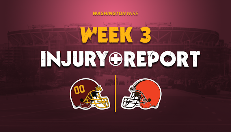 Injury Report: Steven Sims and Morgan Moses questionable, Cole Holcomb out vs. Browns