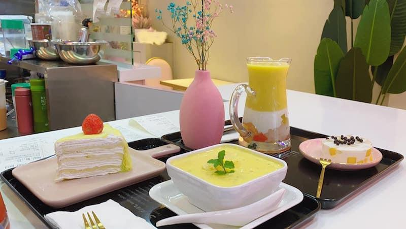An array of desserts from Smile Dessert