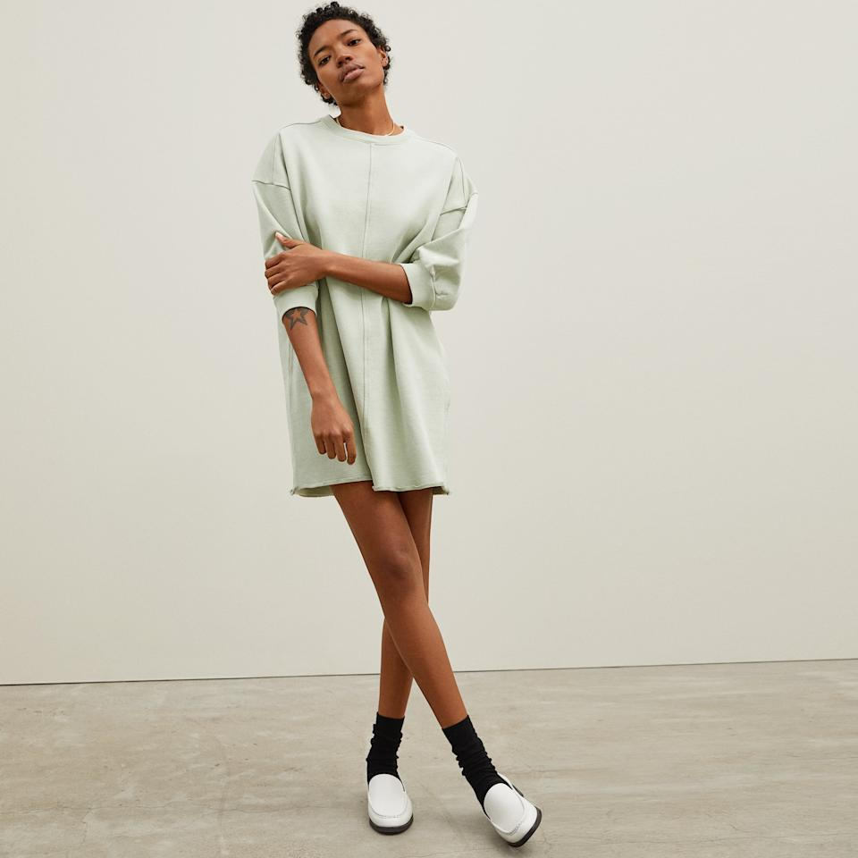 The Track Dress. Image via Everlane.