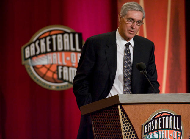 Jerry Sloan was inducted into the Naismith Memorial Basketball Hall of Fame in 2009. (Robert Willett/Raleigh News & Observer/MCT)