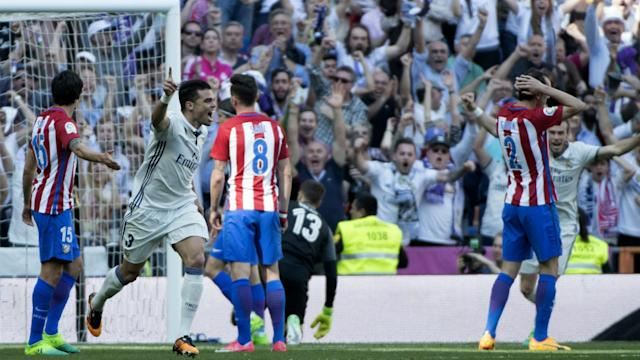 Real Madrid Atletico Madrid La Liga