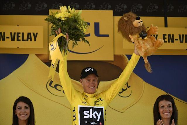 Christopher Froome (Bild: AFP)