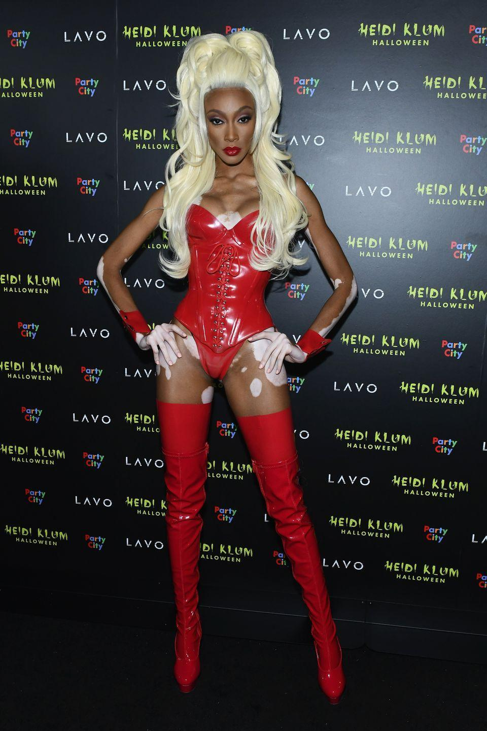 <p>As RuPaul.</p>