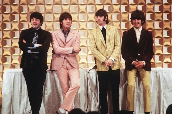 The Beatles in Tokyo in June 1969: they missed the legendary music festival and split up the following year (AFP Photo/JIJI PRESS)