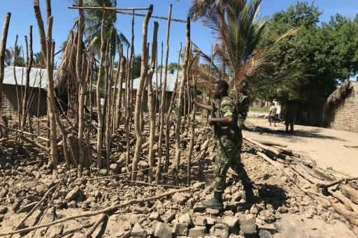 Jihadists have attacked a string of villages in northern Mozambique where the country's future gas hub is to be built