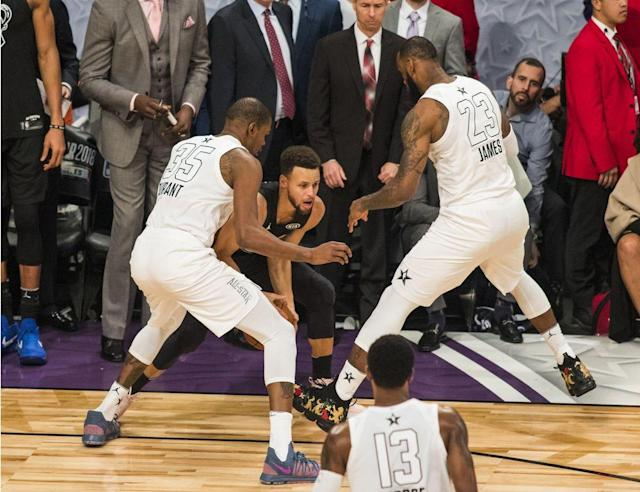 "<p>LOS ANGELES — Months of pomp, circumstance and shouty debates preceded this year's NBA All-Star Game, thanks to a history-altering new captains format and the strange decision to protect feelings by not televising the draft of the rosters. But all of the NBA's planning and all of the media's hand-wringing were still contingent upon a simple premise: The players need to play hard or the showcase is doomed to fail.</p><p>Team LeBron's thrilling 148–145 comeback victory over Team Stephen at Staples Center on Sunday proved that a little effort can go an awfully long way, even in a meaningless midseason exhibition. LeBron James claimed his third career All-Star Game MVP with a captivating closing stretch, finishing a beautiful series of passes with a tough lay-up, stepping back to drain a three-pointer over Joel Embiid, and then teaming with Kevin Durant to smother Stephen Curry on the game's final possession.</p><p>This was the type of late-fourth-quarter intensity that fans and media alike salivate over, the type that the All-Star Game hasn't produced in years, the type that raises and immediately answers everyone's favorite barbershop questions. Who will rise to the occasion when the league's best players are going all-out? Who is willing to accept the pressure—for better or worse—in big moments? Who wanted nothing to do with the ball when the game is on the line? Which youngster is ready to deliver an ""I'm ready for primetime against the league's A-listers"" breakthrough?</p><p>Each of those queries generated answers on Sunday. James and Durant, who had promised to set the tone as the game's ""two best players"" <a href=""https://www.youtube.com/watch?v=HtNWc1AIU20"" rel=""nofollow noopener"" target=""_blank"" data-ylk=""slk:in an Uninterrupted interview"" class=""link rapid-noclick-resp"">in an Uninterrupted interview</a> released earlier in the week, brought home the win with a four-armed last stand. Curry and teammate James Harden both actively sought to play hero, only to come up short. By contrast, DeMar DeRozan withered down the stretch with a missed free throw and a turnover. And then there was first-time All-Star Joel Embiid, who nearly spoiled James's big comeback with forceful offensive play and timely rim protection.</p><p>Sunday's game was far from perfect given its sloppy start and lulls in the action, but the defensive intensity was miles better than the 2016 and 2017 All-Star Games.</p><p>""Coaches, AAU coaches, high school coaches, coaches in Italy, are all looking at our [All-Star Game] and saying … [it's like the] Harlem Globetrotters,"" said Team LeBron coach Dwane Casey. ""That's not a good description for our great game because we've got too many great coaches, too many great players, developmental coaches, and we put too much time and effort to lose the image that we've built up.""</p><p>Two years ago, the West and East combined for a record 369 points. In 2017, the two teams topped that with another record—374 points—in a game that featured less defensive pushback than a summer league run. Those games were unwatchable and a waste of everyone's time.</p><p>""We wanted to change the narrative of the All-Star Game being a joke,"" Durant said. ""Today we wanted to make it a real basketball game.""</p><p>The contest was a real, riveting basketball game when it mattered, with James (29 points, 10 rebounds, 8 assists) dictating the late-game action, Embiid (19 points, 8 rebounds) emerging as a fascinating match-up wildcard, and video reviews adding a layer of controversy on top of the high-level play. Once the dust settled, Team LeBron and Team Stephen combined to score ""only"" 293 points, the lowest All-Star Game total in five years and a 22% drop from 2017.</p><p>Substantially lower scores, yes. But a far more compelling result. Order, sanity and respectability were restored.</p><p>""[Changing the format] worked out not only for the players, not only for the league, but for our fans, for everybody,"" James said. ""It was a great weekend, and we capped it off the right way.""</p><p>What, exactly, prompted this year's turnaround in effort and intensity? Was it, as Kyrie Irving suggested, the $350,000 in charity money that went to the winning team? Was it the more balanced rosters which saw James ditch his weak all-East supporting casts of recent years to add Durant, Russell Westbrook, Anthony Davis and Paul George from the West? Was it the addition of Embiid and his mouth-watering potential playoff preview? Was it merely guilt after the last two All-Star duds? Pride? Boredom?</p><p>A full analysis would credit NBA commissioner Adam Silver and National Basketball Players Association president Chris Paul for putting their heads together months ago to shake things up. More immediately, such an analysis would give a nod to Casey for setting the tone by throwing out some extra defensive traps and coverages. It would note that James's comeback never would have been possible without the new roster format given the substantial contributions of his Western Conference teammates.</p><p>And it would specifically credit James—who spent Saturday <a href=""https://www.si.com/nba/2018/02/17/lebron-james-adam-silver-laura-ingraham-social-justice"" rel=""nofollow noopener"" target=""_blank"" data-ylk=""slk:discussing his symbolic value to society"" class=""link rapid-noclick-resp"">discussing his symbolic value to society</a> when it comes to conversations about race—for accepting the challenge of fixing a broken All-Star Game culture. If James had coasted through the fourth—or if he had simply shut down early—the entire endeavor looks a lot less rosy.</p><p>The All-Star Game conversation will surely turn in the coming days to further tweaks to the rosters and format, new calls for televising the drafts, and perhaps other proposed changes to the ballot and voting criteria. That's all well and good, as long as the focus remains on the most important takeaway for future years: The best basketball players in the world fixed the NBA All-Star Game by deciding to compete again.</p>"