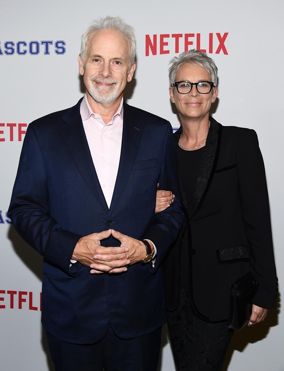 "<a href=""https://www.huffpost.com/entertainment/topic/jamie-lee-curtis"" target=""_blank"" rel=""noopener noreferrer"">Jamie Lee Curtis</a> and mockumentary director Christopher Guest have been married for over three decades. In an interview with <a href=""https://www.theguardian.com/film/2016/oct/11/christopher-guest-on-life-as-a-baron-and-how-wife-jamie-lee-curtis-picked-him-out-of-a-magazine"" target=""_blank"" rel=""noopener noreferrer"">The Guardian in 2016</a>, Guest joked about how his wife ""picked"" him out of a magazine. <br /><br><br><br />""She said to her friend, 'I'm going to marry that guy,'"" <a href=""https://www.theguardian.com/film/2016/oct/11/christopher-guest-on-life-as-a-baron-and-how-wife-jamie-lee-curtis-picked-him-out-of-a-magazine"" target=""_blank"" rel=""noopener noreferrer"">he said.</a> ""We still have that original photo hanging up at the house."""