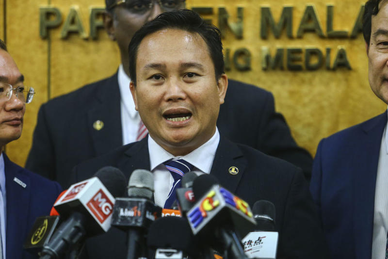 PKR federal lawmaker Willie Mongin joined other political leaders and NGOs in calling for Dr Zakir Naik to be deported to his birth country. — Picture by Hari Anggara