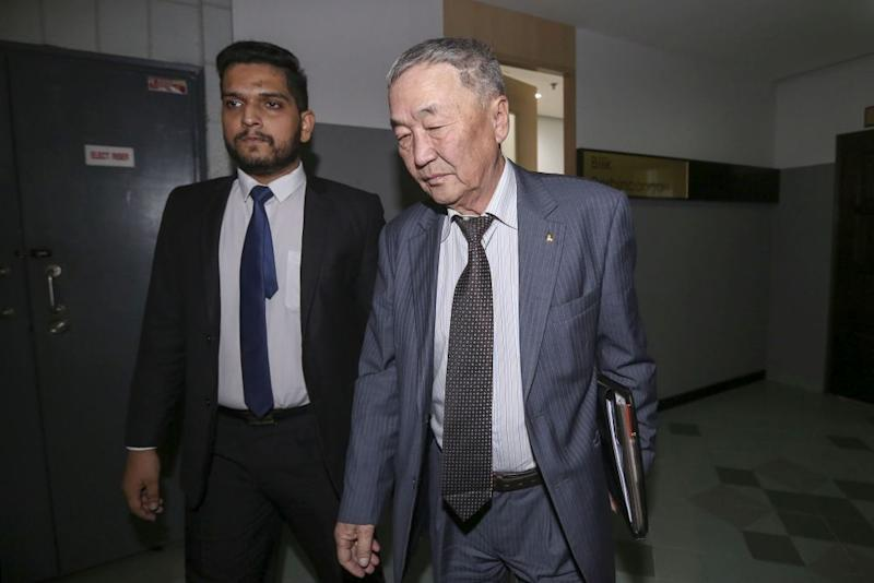 Shaariibuu Setev arrives at the Shah Alam Hight Court January 25, 2019. ― Picture by Yusof Mat Isa