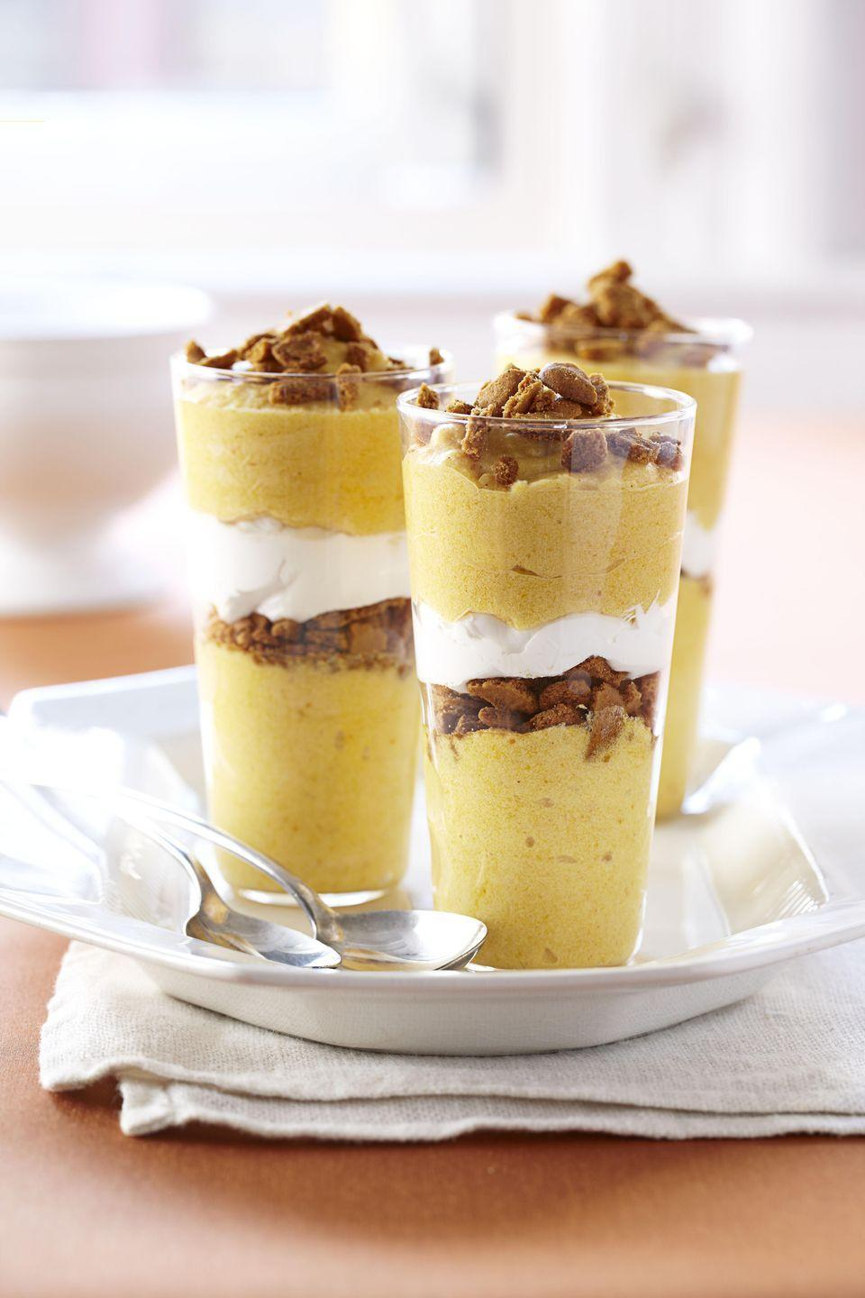 "<p>Meet Ina's delicious, inventive take on the flavors of a traditional <a href=""https://www.goodhousekeeping.com/food-recipes/g3986/pumpkin-pie-recipes/"" rel=""nofollow noopener"" target=""_blank"" data-ylk=""slk:pumpkin pie"" class=""link rapid-noclick-resp"">pumpkin pie</a>. We're into it. </p><p><em><a href=""https://www.goodhousekeeping.com/food-recipes/a11085/pumpkin-mousse-parfaits-recipe-ghk1111/"" rel=""nofollow noopener"" target=""_blank"" data-ylk=""slk:Get the recipe for Pumpkin Mousse Parfaits »"" class=""link rapid-noclick-resp"">Get the recipe for Pumpkin Mousse Parfaits »</a></em></p><p><strong>RELATED: </strong><a href=""https://www.goodhousekeeping.com/holidays/thanksgiving-ideas/g398/ina-garten-thanksgiving-recipes/"" rel=""nofollow noopener"" target=""_blank"" data-ylk=""slk:19 Delicious Ina Garten Thanksgiving Recipes to Wow Your Dinner Guests"" class=""link rapid-noclick-resp"">19 Delicious Ina Garten Thanksgiving Recipes to Wow Your Dinner Guests</a></p>"