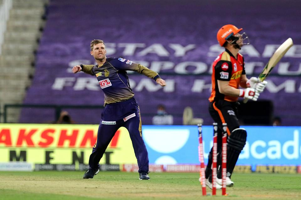 Lockie Ferguson conceded just two runs in the Super Over which the Eoin Morgan led-side chased down rather easily.