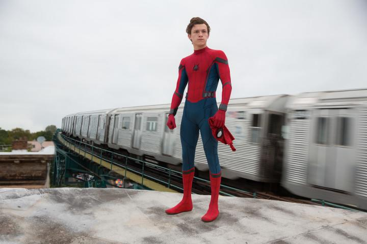 Tom Holland as Spider-Man (Credit: Sony Pictures)