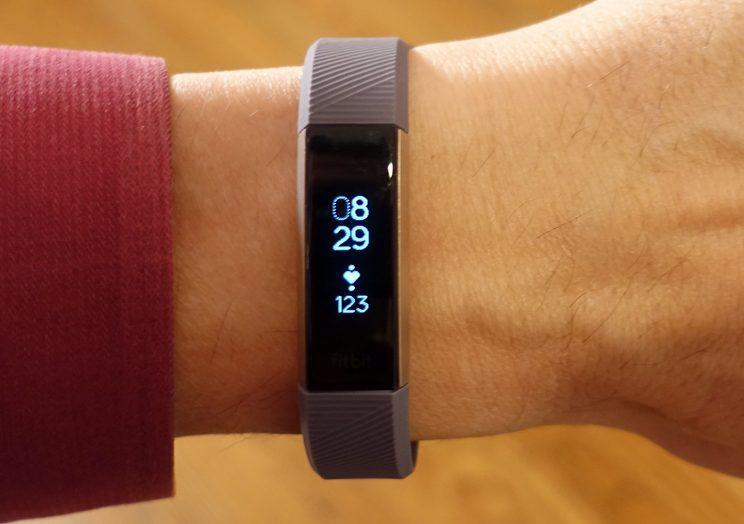 The Fitbit Alta HR: The world's slimmest heart-tracking band.