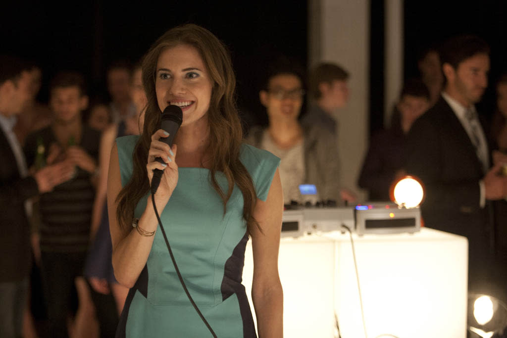 """Allison Williams in the """"Girls"""" Season 2 episode, """"On All Fours."""""""