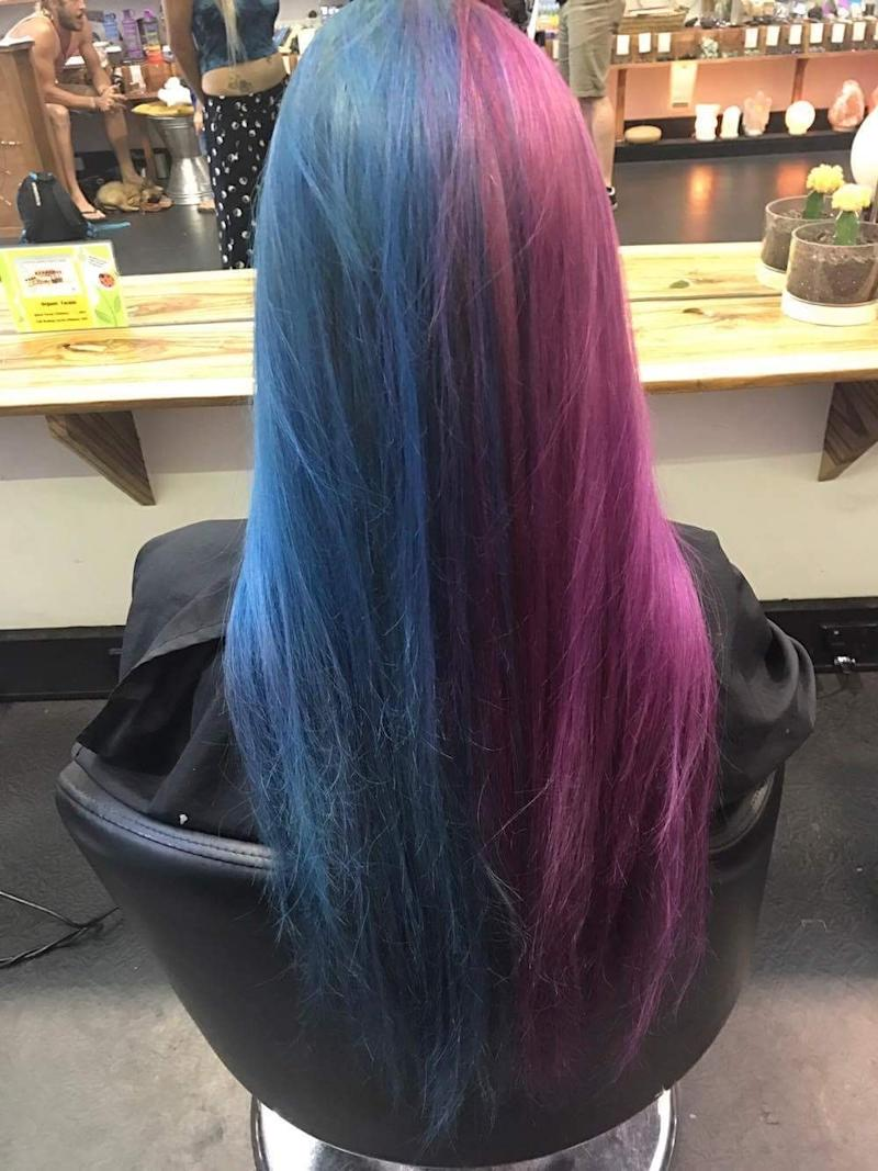 This Color-Changing Hair Is the Most Magical Instagram Trend We've Ever Seen