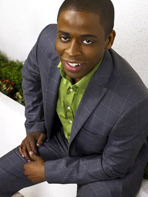 "Dule Hill as Burton Guster in ""Psych."""