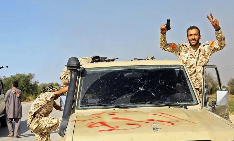 Forces loyal to Libya's UN-recognised government have put up strong resistance (AFP Photo/Mahmud TURKIA)