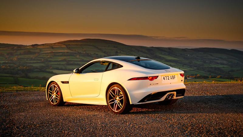 2020 Jaguar F-Type Checade Flag Edition