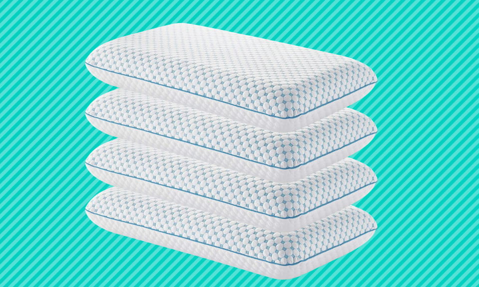Changing up your pillows could help relieve your neck and back pain. (Photo: Amazon)