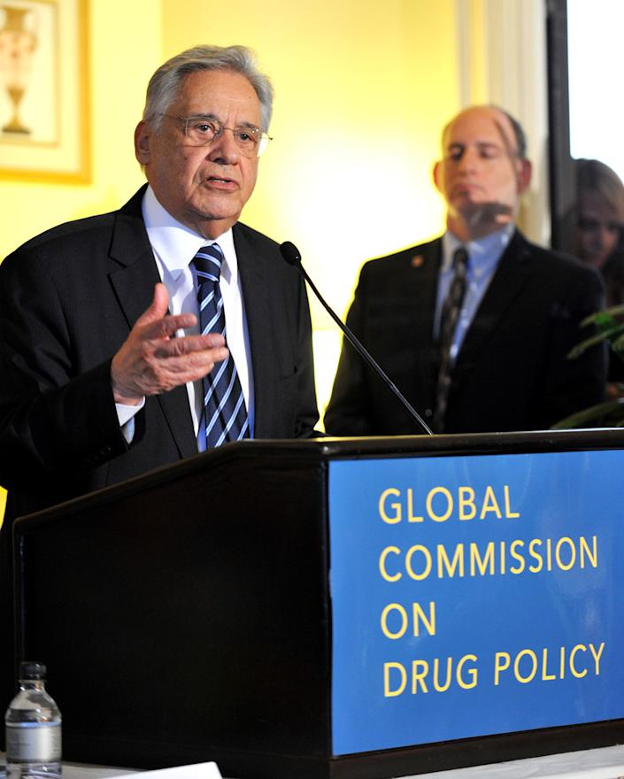 """Several current and former Latin American presidents, like Fernando Henrique Cardoso, have <a href=""""http://www.globalcommissionondrugs.org/"""">urged the United States to rethink its failed war on drugs</a>, to no avail."""