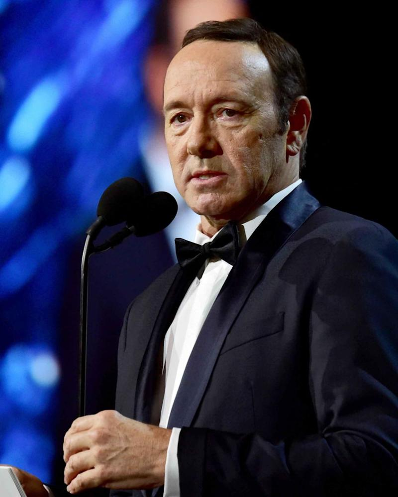 Kevin Spacey (here earlier this year) has been accused of sexual harassment. Source: Getty