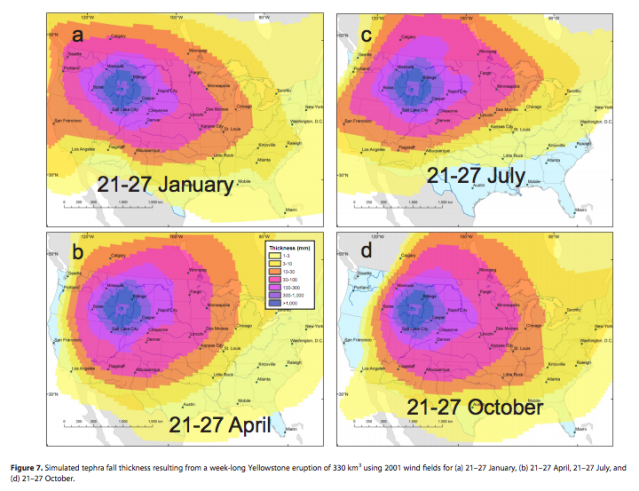 What Would Happen If The Yellowstone Supervolcano Actually