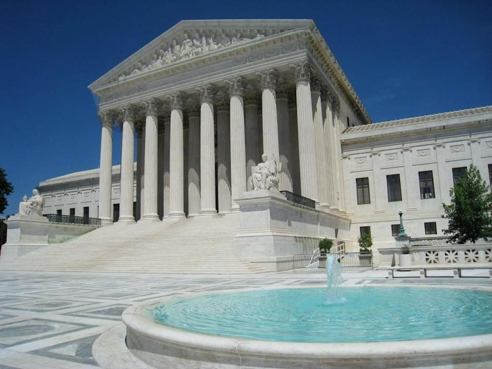 "The Supreme Court, the highest court in the land, is home to <a href=""https://www.atlasobscura.com/places/highest-court-of-the-land"" rel=""nofollow noopener"" target=""_blank"" data-ylk=""slk:a basketball court"" class=""link rapid-noclick-resp"">a basketball court</a> on its roof (four floors up, to be exact), named, appropriately, the Highest Court in the Land. It's smaller than a regulation-size court but provides a great sweat therapy session. In recent years, it's been modified to include a gym and yoga studio."
