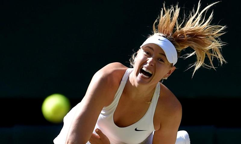 Maria Sharapova hopes a display of her old power might help her reach the French Open.