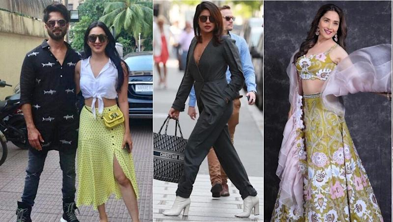 Best And Worst Dressed Over The Weekend: Here's How Madhuri Dixit, Kiara Advani, Shahid Kapoor and Priyanka Chopra Fared In Our Style Meter!