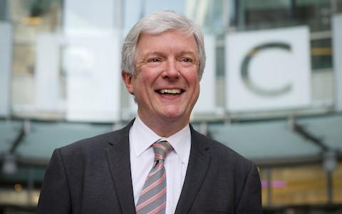 Tony Hall, director-general of the BBC - Credit: Leon Neal