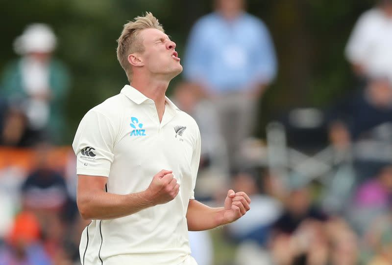 New Zealand v India - Second Test