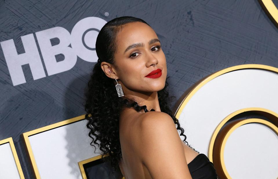 Nathalie Emmanuel attends the HBO's Post Emmy Awards Reception at The Plaza at the Pacific Design Center on September 22, 2019, in Los Angeles, California