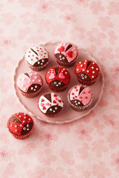 """<p>These adorable cupcakes are sure to warm your sweetie's heart and stomach!</p><p><strong><a href=""""https://www.womansday.com/food-recipes/food-drinks/recipes/a12547/chocolate-lovebugs-recipe-wdy0215/"""" rel=""""nofollow noopener"""" target=""""_blank"""" data-ylk=""""slk:Get the recipe."""" class=""""link rapid-noclick-resp"""">Get the recipe.</a></strong><br></p>"""