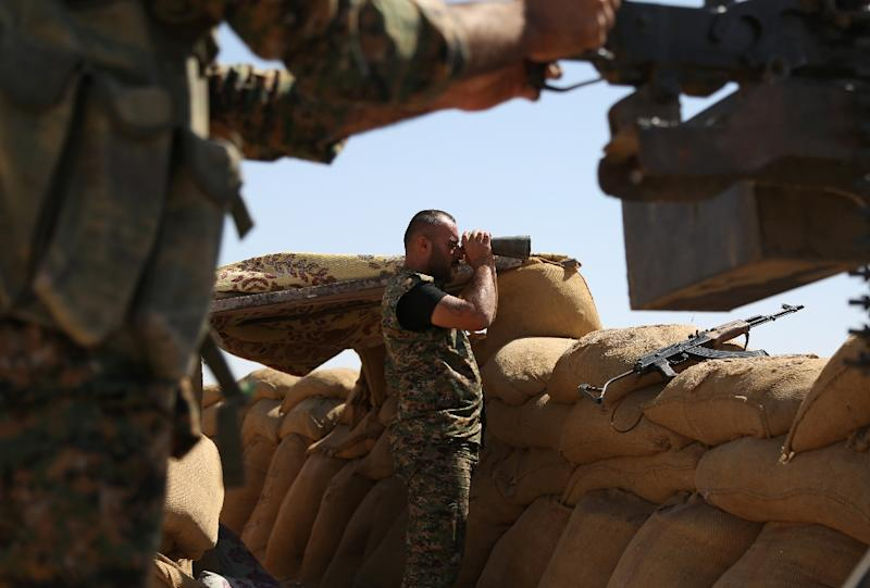 Syrians Flee Clashes Between Kurdish Forces and Government