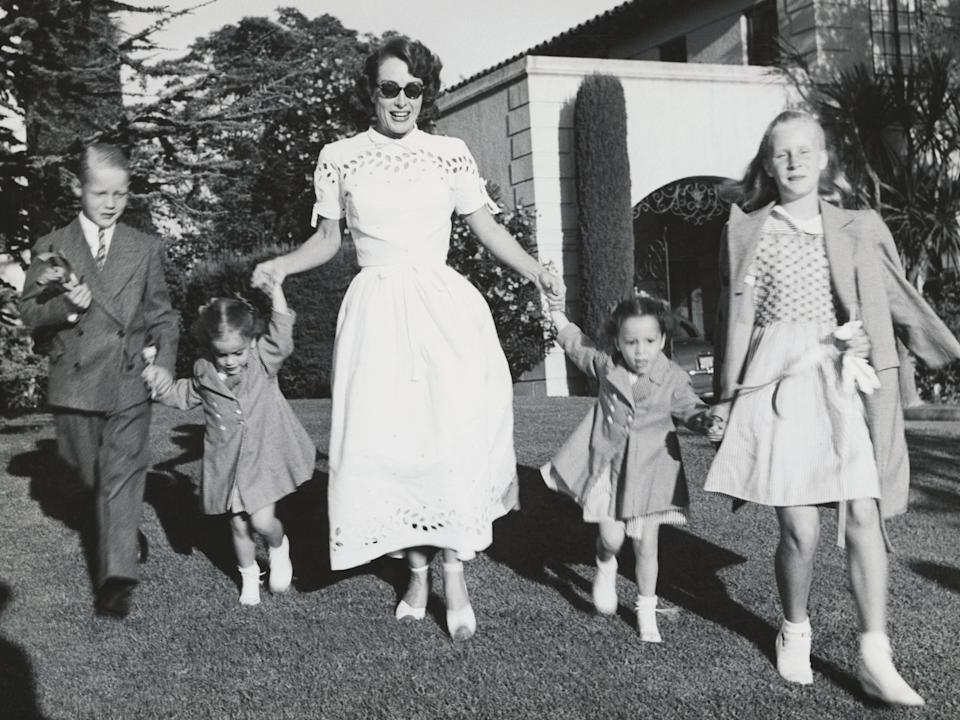 Joan Crawford and Adopted Children TCHS
