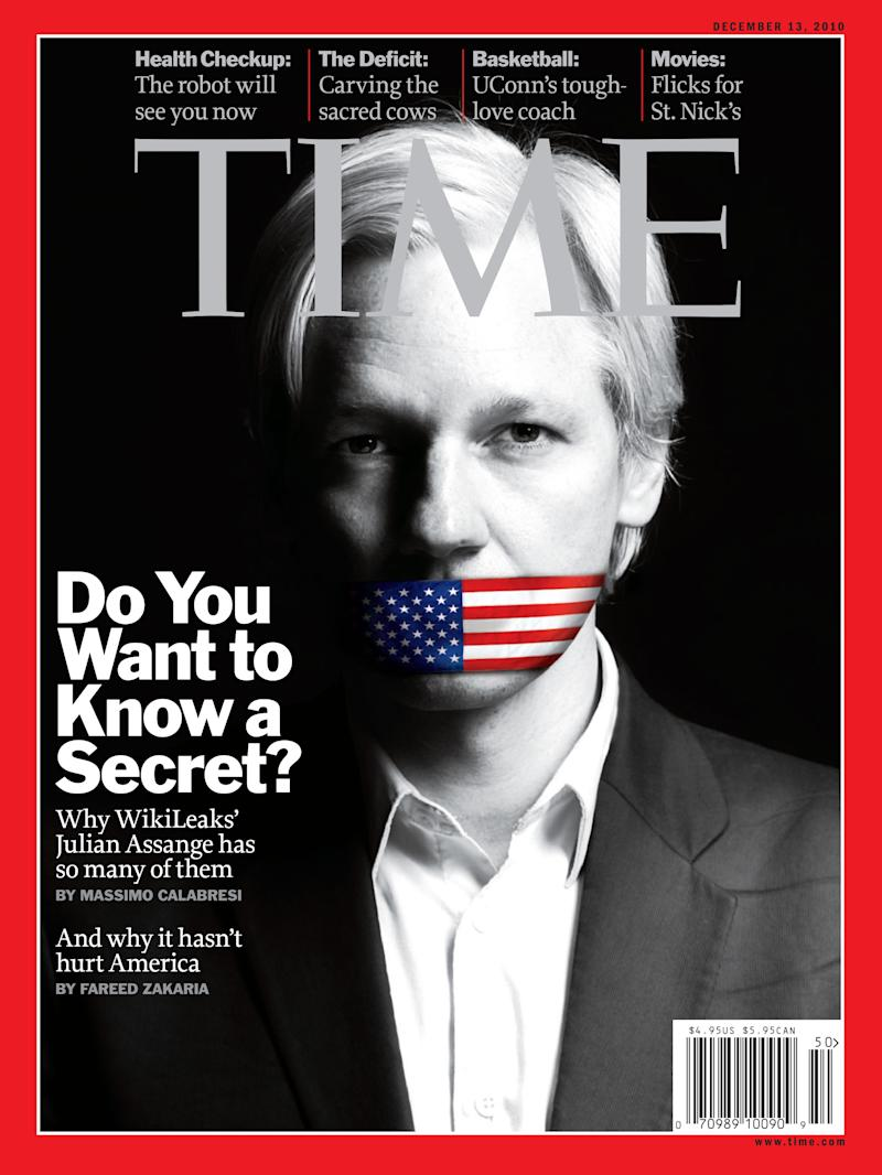 TIME's December 13, 2010 cover | Photograph by Kate Peters for TIME. Photo-Illustration by D.W. Pine