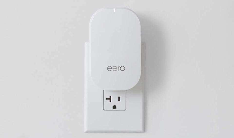 This Wi-Fi beacon extends your network to that frustrating corner where you always lose connectivity — and it doubles as a nightlight. (Photo: Amazon)