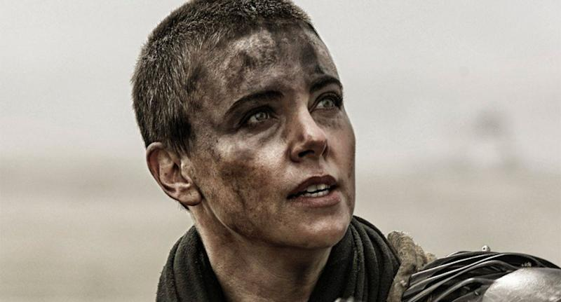 Charlize Theron as Furiosa in Mad Max: Fury Road. (Warner Bros.)