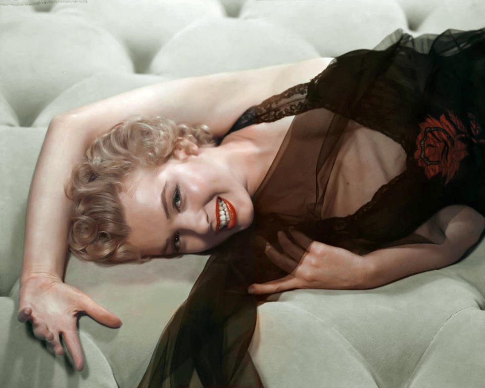 American actress, singer, model and sex symbol Marilyn Monroe. (Photo by Sunset Boulevard/Corbis via Getty Images)