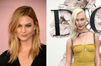 <p><strong>When:</strong> July 3<br>The supermodel went platinum, debuting her new stand-out look at Dior's recent couture show.<br><i>[Photo: Getty]</i> </p>