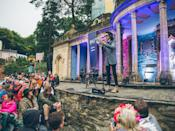 <p><b>Talks, dance classes, Wales' infamous all-male choir and much more will keep you tethered to the festival's Central Piazza. </b></p>
