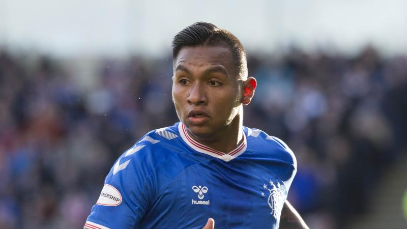 Man charged after hot drink thrown at Rangers player Alfredo Morelos