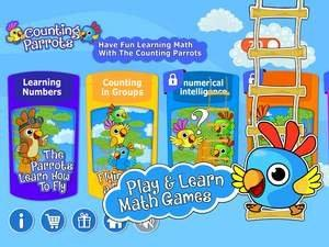 """Study Supports """"Counting Parrots"""" Game: Children's Counting Abilities in Preschool Affected Their First-Grade Math Scores"""